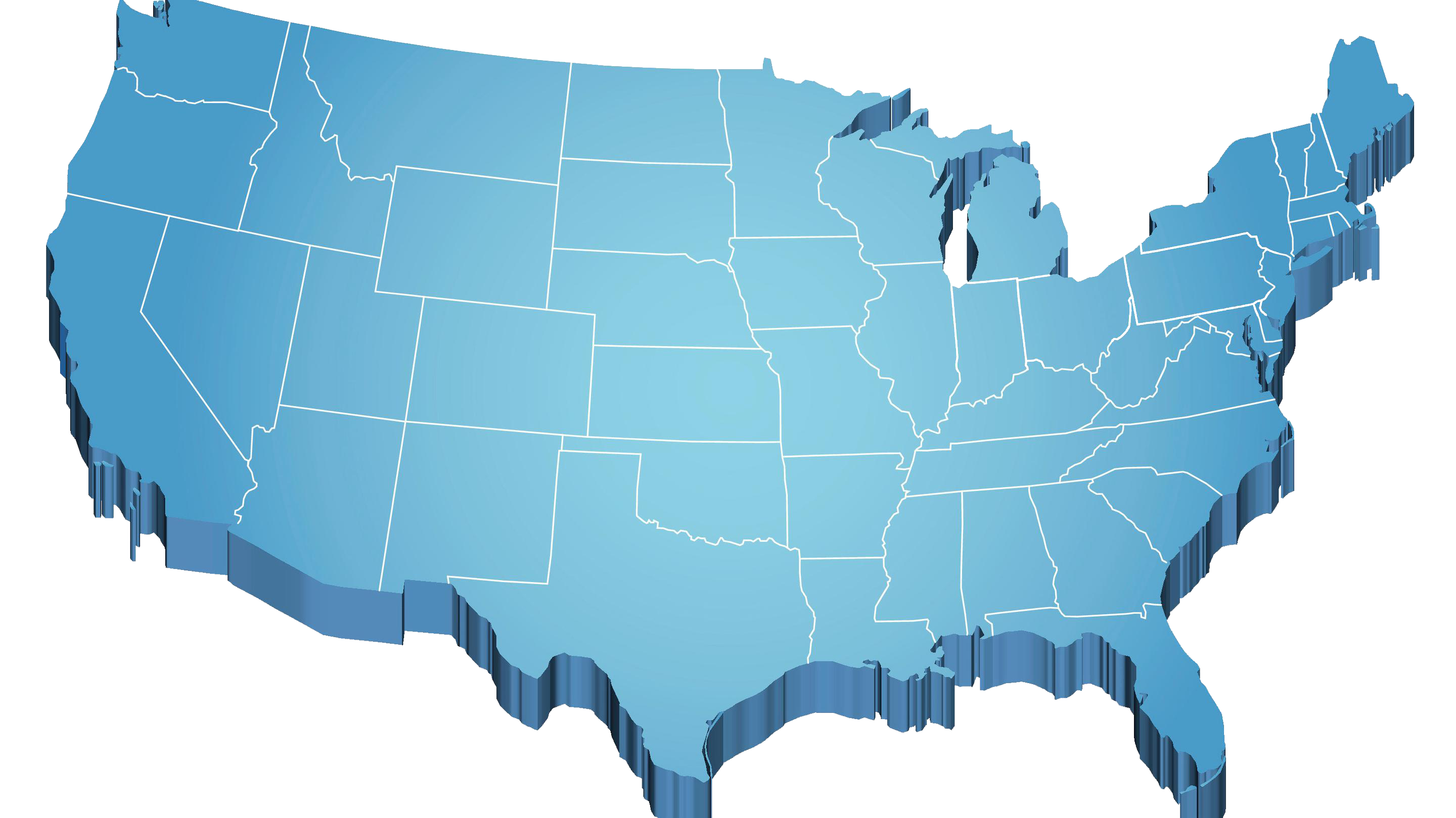 IT Service Locations Xonicwave Is Available Nationwide - Us map individual states
